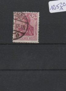 Deutsches Reich     gestempelt    MiNr. 197 b      geprüft INFLA