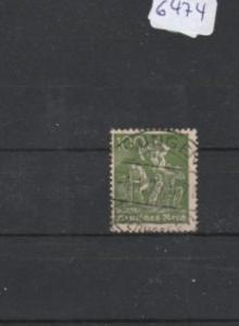 Deutsches Reich     gestempelt    MiNr. 187 c         geprüft INFLA