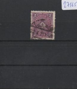 Deutsches Reich     gestempelt    MiNr. 191 I           geprüft INFLA