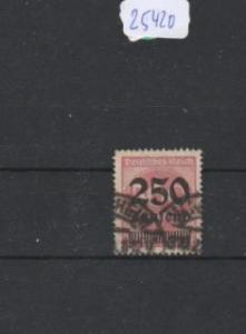 Deutsches Reich     gestempelt    MiNr. 295     geprüft INFLA