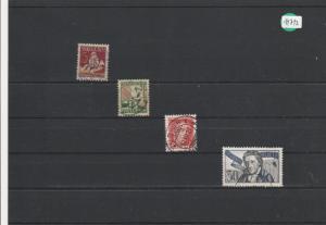 Schweiz     gestempelt      MiNr. 222-225