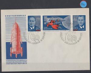 DDR    Ersttagsbrief  MiNr. 1138-1140