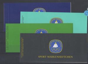 BRD     Posten/Lot  4  Markenhefte  postfrisch  MiNr. 1238/1047/1207/1009