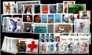 BUND Jahrgang 1988 kpl. postfrisch ME 50.- (94292)