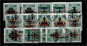 DDR 1989 Nr 3289-94 alle ZD kpl gestempelt (94048)