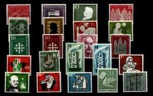 BUND Jahrgang 1956 kpl. postfrisch ME 74.- (94338)