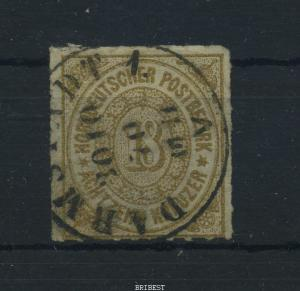 NDB 1869 Nr 11 sauber gestempelt (88321)
