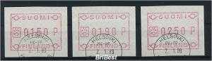 FINNLAND 1989 ATM Nr 5.2y S1 gestempelt RRRR (77578)