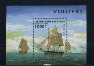 BENIN Motivblock: SCHIFFE postfrisch (84612)