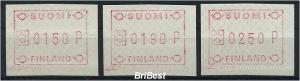FINNLAND 1989 ATM Nr 5.xb S1 postfrisch (77582)