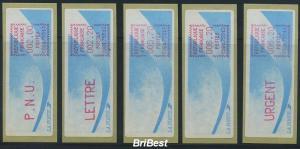 FRANKREICH 1988 ATM Nr 9.5b PS2 ME 50.- (77094)