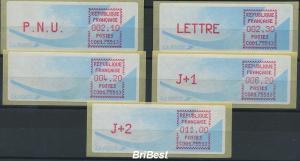 FRANKREICH 1988 ATM Nr 9.5b ZS5 ME 50.- (77096)