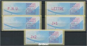 FRANKREICH 1988 ATM Nr 9.5b ZS5 ME 50.- (77097)