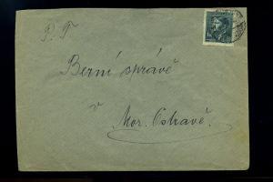 BOEHMEN+MAEHREN interessanter Brief ANSEHEN (74230)