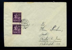 BOEHMEN+MAEHREN interessanter Brief ANSEHEN (74243)