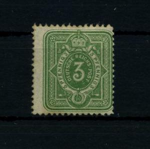 DEUTSCHES REICH 1880 Nr 39IIbD postfrisch gepr Wiegand BPP (72068)