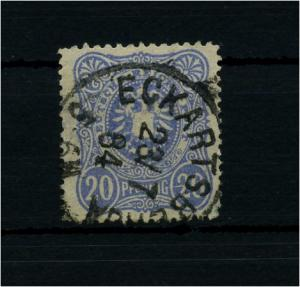 DEUTSCHES REICH 1880 Nr 42aD III gestplt gepr Wiegand BPP (72069)