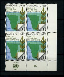 UNO GENF 1979 Nr 85 - 4er Block postfrisch (73986)