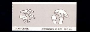 NORWEGEN 1987 Markenheftchen Nr 10 gestempelt (70326)