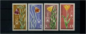 BULGARIEN 1978 Motivsatz: PFLANZEN postfrisch (71648)