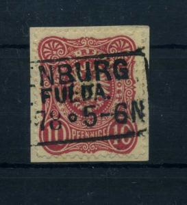 DEUTSCHES REICH 1875 Nr 33aC Bfst gepr Zenker BPP (64002)