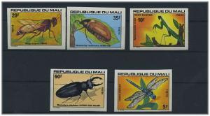 MALI 1977 Nr 590-594U UNGEZ. Postfrisch (34624)