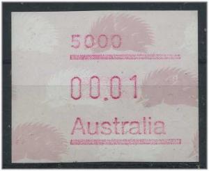 AUSTRALIEN ATM Nr 9 postfrisch mit Plattenfehler (47335)