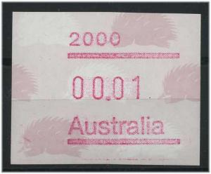 AUSTRALIEN ATM Nr 9 postfrisch mit Plattenfehler (47336)