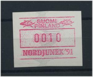 FINNLAND 1991 ATM Nr 11 postfrisch (46764)