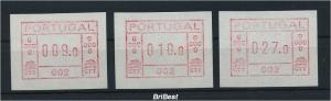 PORTUGAL ATM Nr 1.1.2b S2 postfrisch (96294)