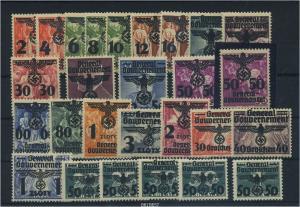 BES. II. WK GG Nr 14-39 postfrisch (96374)