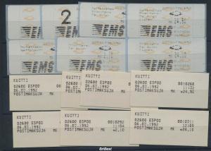 FINNLAND ATM Nr 12.1 ZS2 postfrisch (96295)