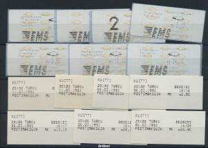 FINNLAND ATM Nr 12.2 ZS2 postfrisch (96296)