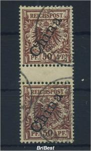 DP in China 1898 Nr 6II ZS gestempelt (96287)