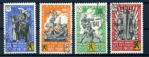 II.WK BELGIEN 1941, Nr. I-IV (96796)