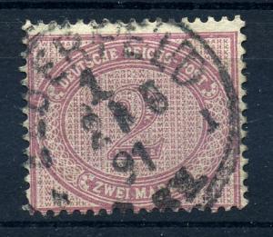 DEUTSCHES REICH 1875, Nr. 37d gestempelt (96746)