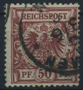DEUTSCHES REICH 1889, Nr. 50a gestempelt (96557)