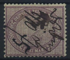 DEUTSCHES REICH 1875, Nr. 37a gestempelt (96559)