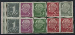 BUND 1958, HBl. 8YII (96971)