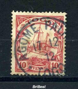 TOGO 1900 Nr 9 Stempel: AGOME PALME (97247)