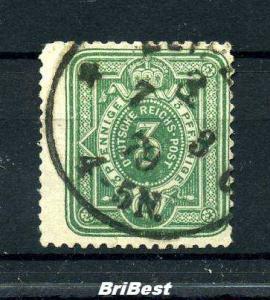 DEUTSCHES REICH 1880 Nr 39aB sauber gestempelt gepr. (96999)