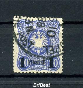 DP TUERKEI 1884 Nr 2 sauber gestempelt (97084)