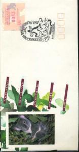 AUSTRALIEN 1990 ATM Nr 18 auf Ersttagsbrief (700012)