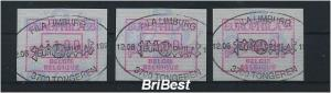 BELGIEN 1994 ATM Nr 29 S1 Satz gestempelt (79767)