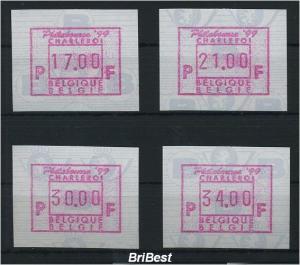 BELGIEN 1999 ATM Nr 38v S1 Satz postfrisch (79765)