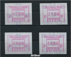BELGIEN 2001 ATM Nr 44.1 S1 Satz postfrisch (79787)