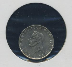 DEUTSCHES REICH - 2Mk 1934F Schiller ss-vz (92149)