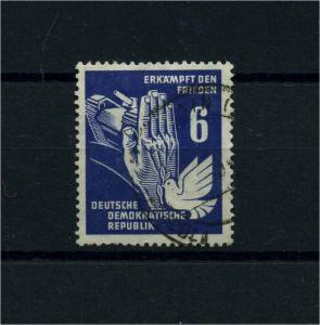 DDR 1950 Nr 276 f35 gestempelt (100970)
