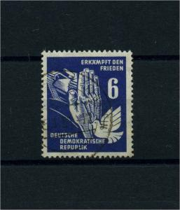 DDR 1950 Nr 276 f35 gestempelt (100974)