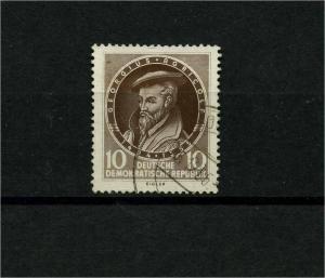 DDR 1955 Nr 497 f3 gestempelt (101228)
